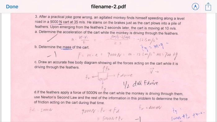 Solved Done Filename 2pdf 3 After A Practical Joke Gone