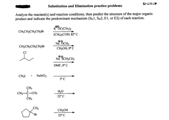 Solved: Substitution And Elimination Practice Problems Ana