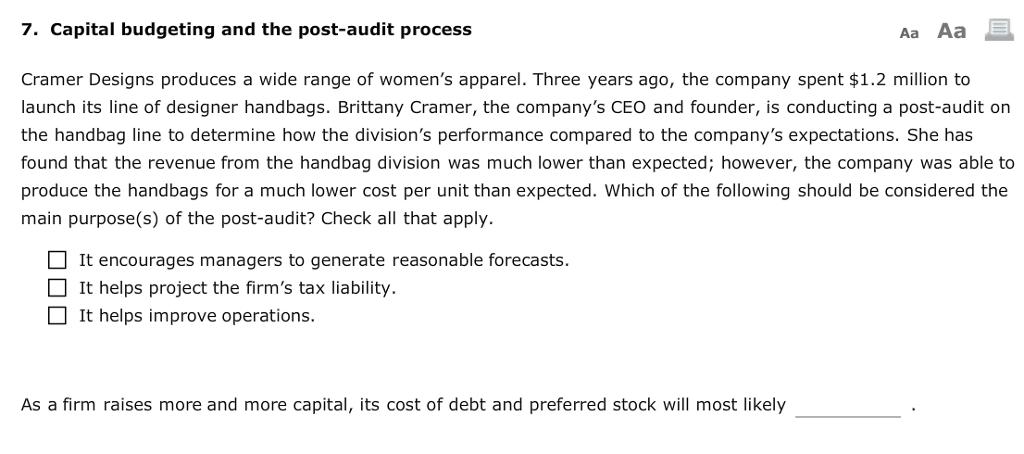 purpose of capital budgeting