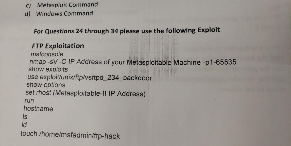 Ftp Exploit