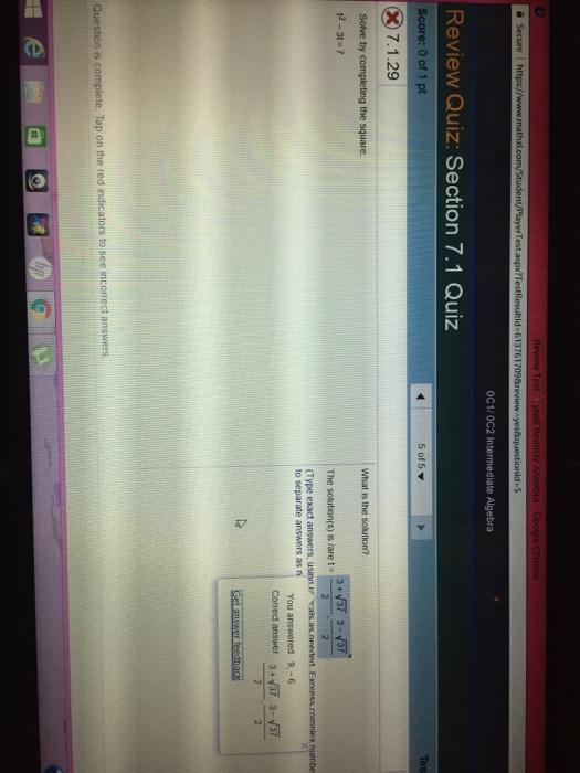 Solved: Ll Beatriz Alambra Google Chromn A Secure I Https