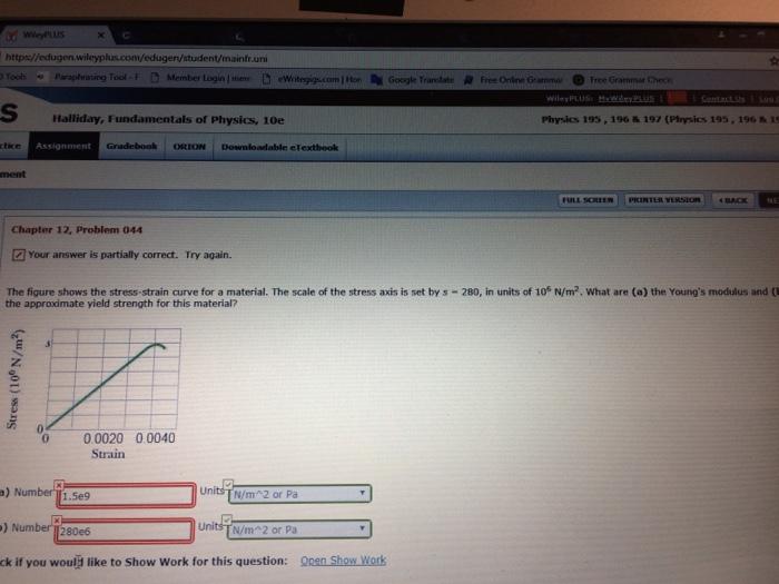 Solved: Https//edugen Wileyplus com/edugen/student/mainfr