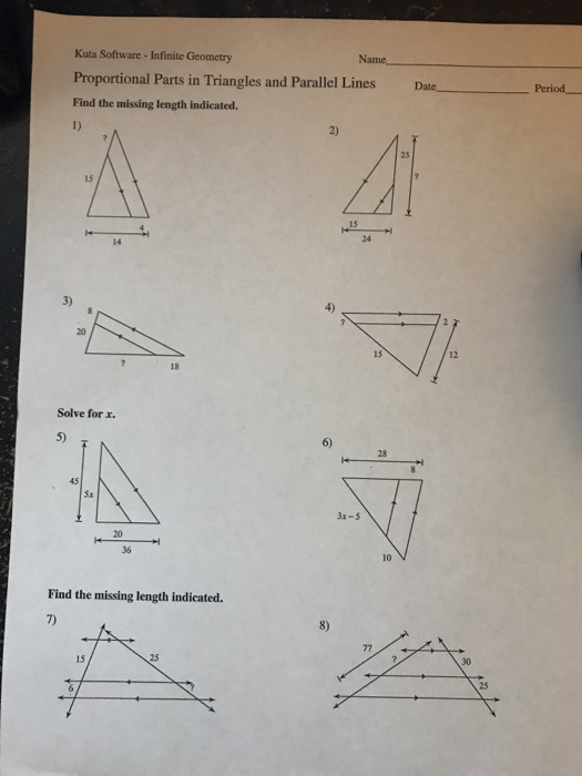 Worksheet Kuta Software Infinite Geometry Answer Key ...