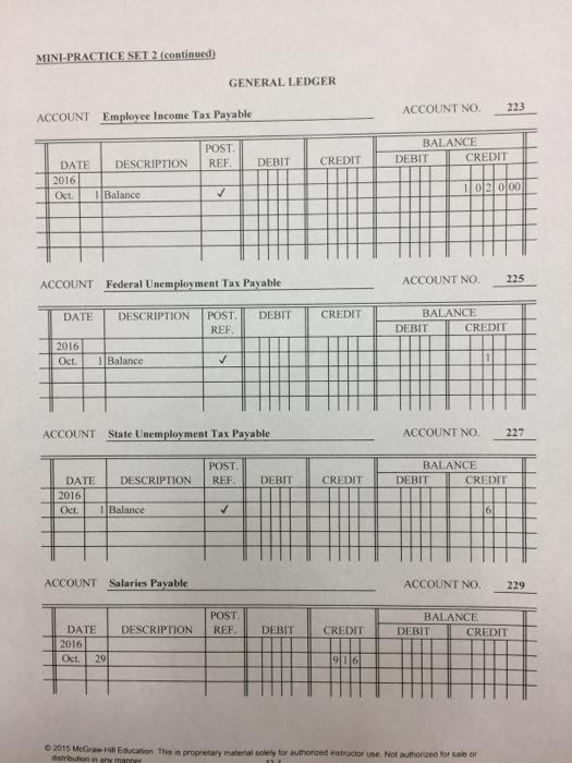 Custom writing accounting practice set