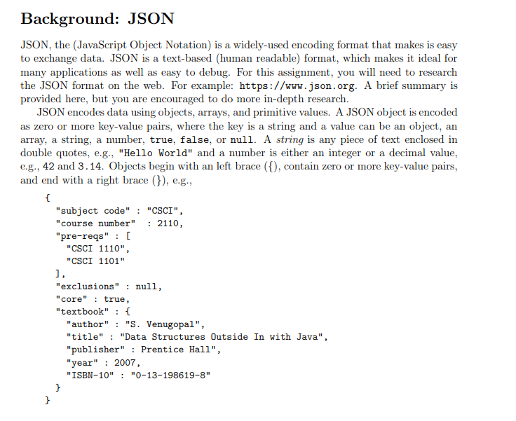 Design A Java Program That Compares If Two JSON Ob    | Chegg com