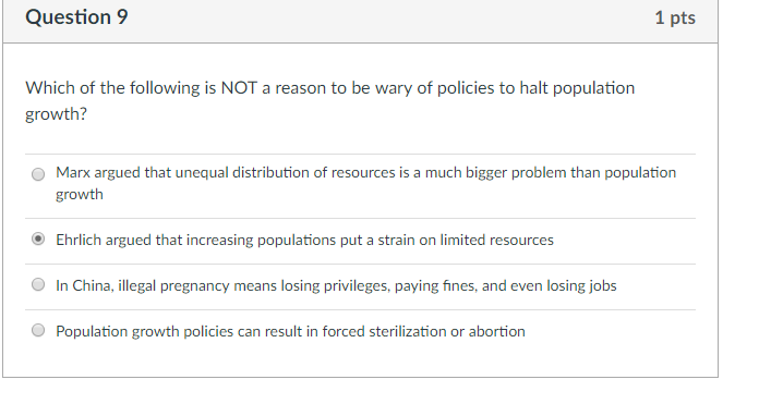 population growth policies