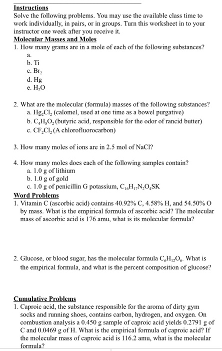 Solved: Solve The Following Problems. You May Use The Avai ...
