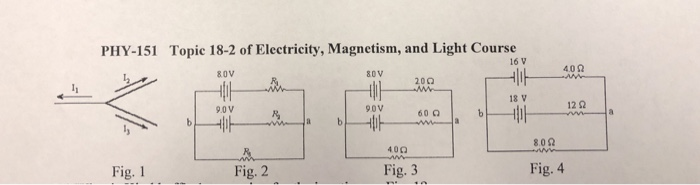 Solved: PHY-151 Topic 18-2 Of Electricity, Magnetism, And