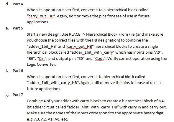 Solved: Binary Calculator A  Part 1 In MultiSim, Create A