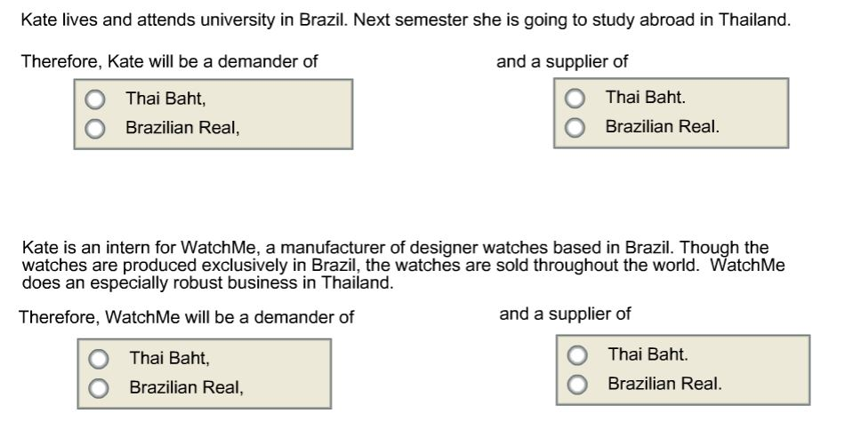 Solved: Kate Lives And Attends University In Brazil  Next