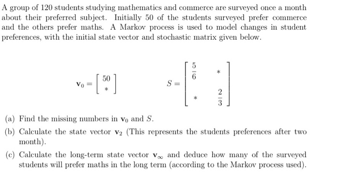 Solved: A Group Of 120 Students Studying Mathematics And C
