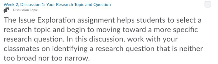 how to narrow research topic
