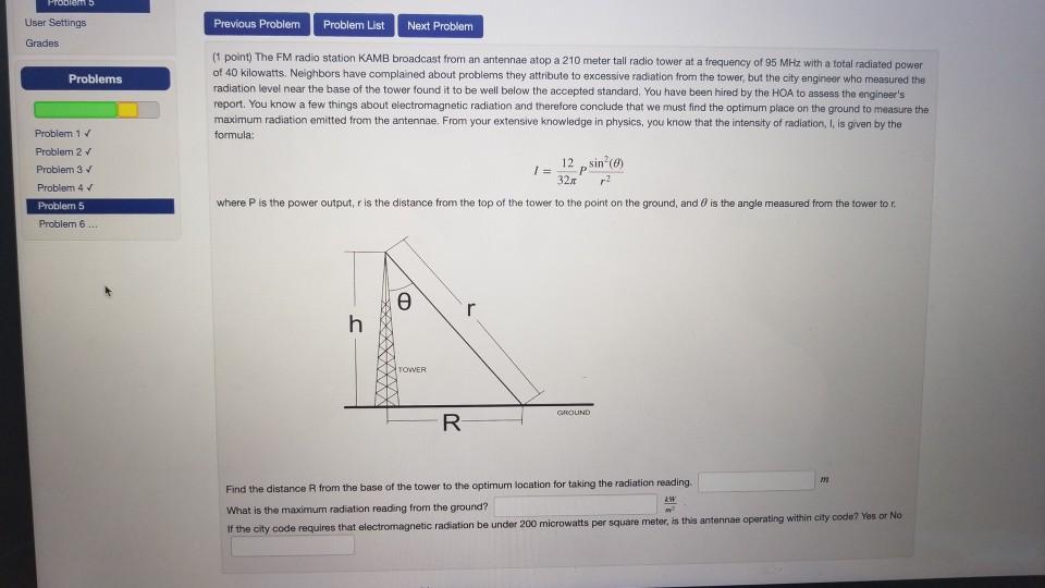 Solved: User Settings Previous Problem Problem List Next P
