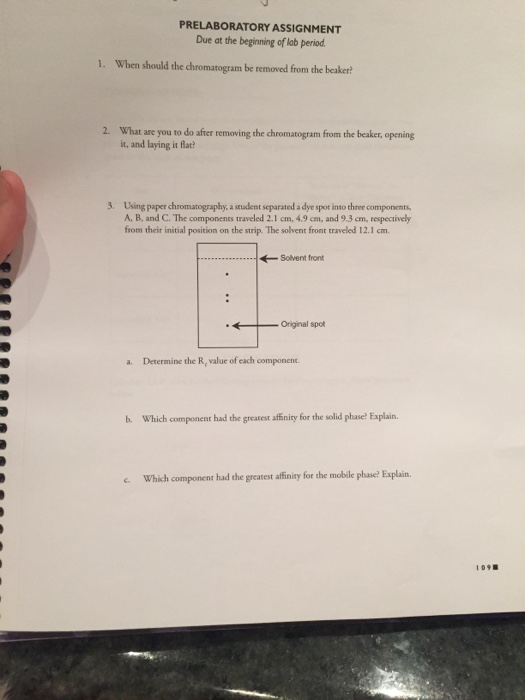 Solved: PRELABORATORY ASSIGNMENT Due At The Beginning Of L