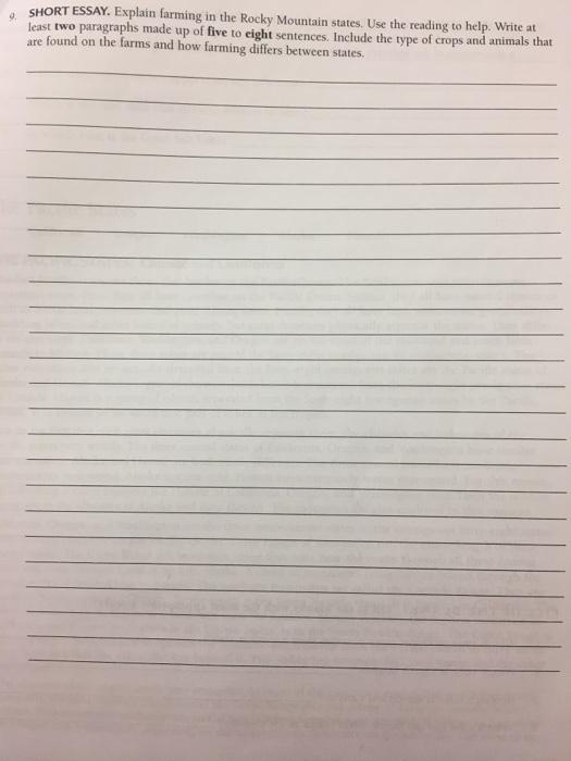 short essay on reading
