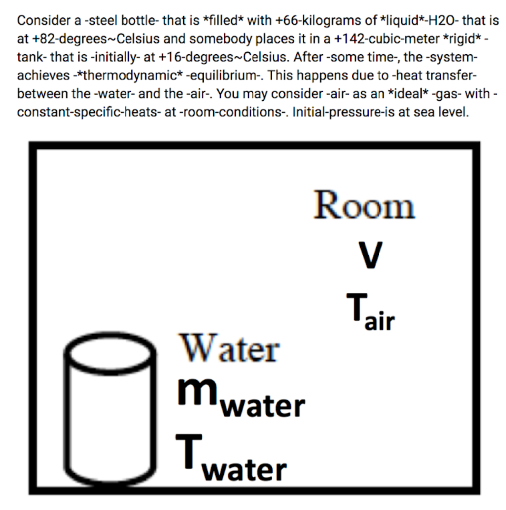 Question Determine The Mass Of Air In Room Kg Units By Considering Rooms Energy Balance Pl