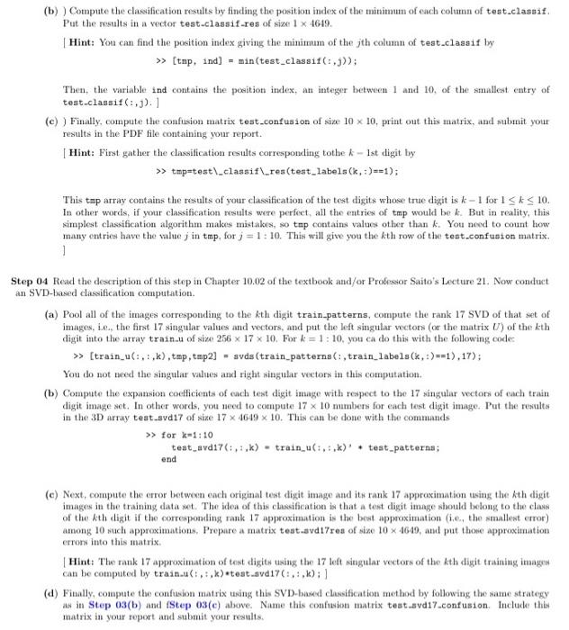 Step 01 Download The Handwritten Digit Database