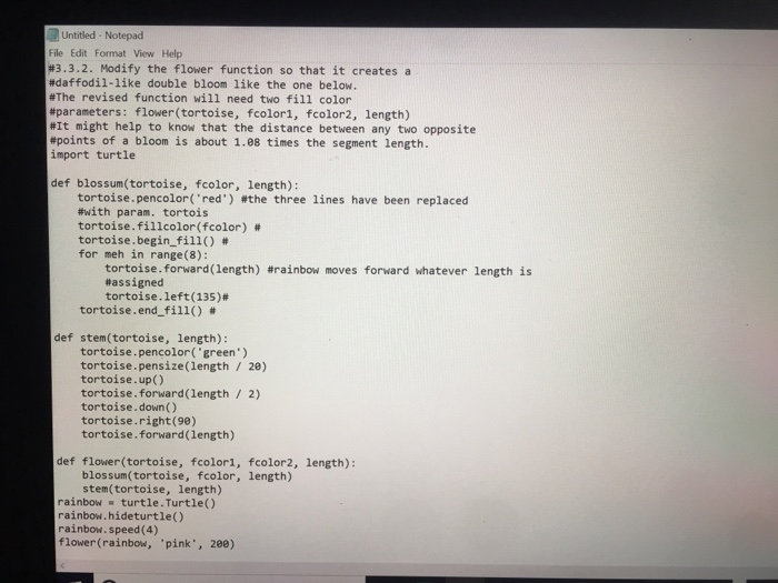 Solved Hello This Is Python 3 I Need Step By Step Explan
