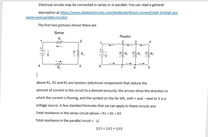 Solved: Electric Circuits Voltage Question Https://www all