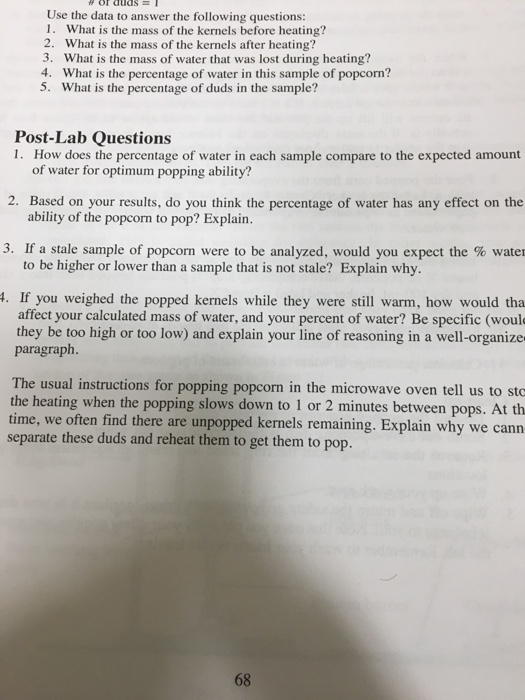 Solved Use The Data To Answer The Following Questions Wh