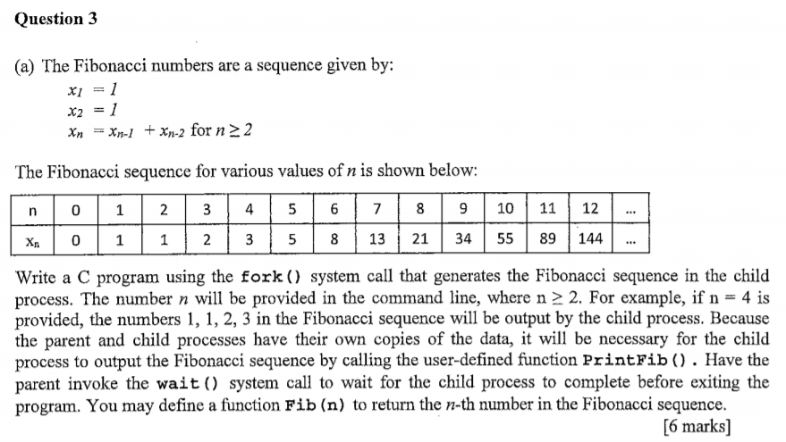 Write a c program using the fork system call that generates the fibonacci sequence esl admission paper ghostwriting website uk