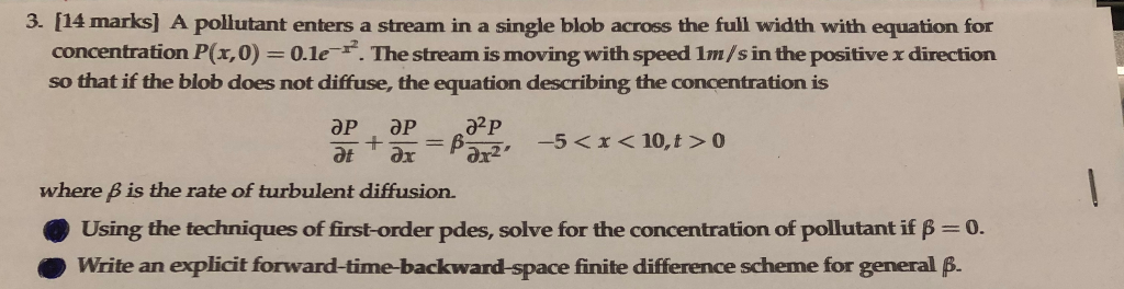 Solved: Help Please  Smart Advanced Maths Person Needed To
