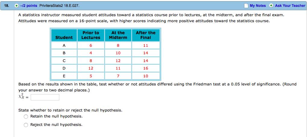 A Level Statistics 2 Notes