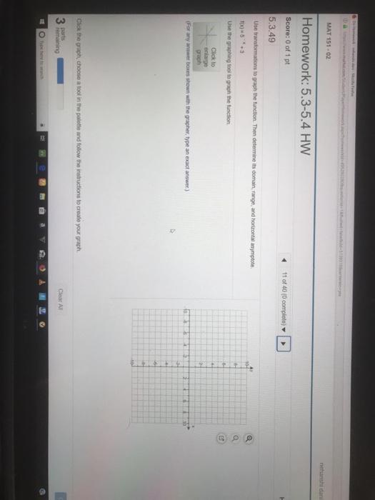 solved mat 151 02 homework 5 3 5 4 hw score 0 of 1 pt 5 rh chegg com