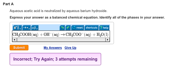 Answers to mastering Chemistry Questions chapter 17 19