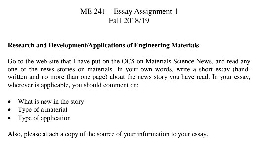 solved me  essay assignment  fall  research an