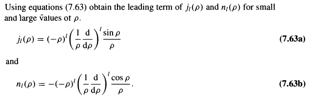 solved using equations 7 63 obtain the leading term of