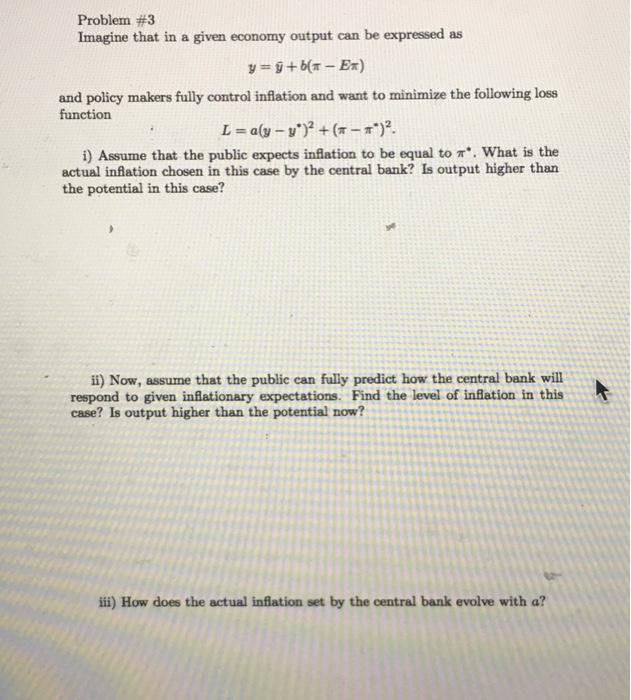 Economics Recent Questions Chegg