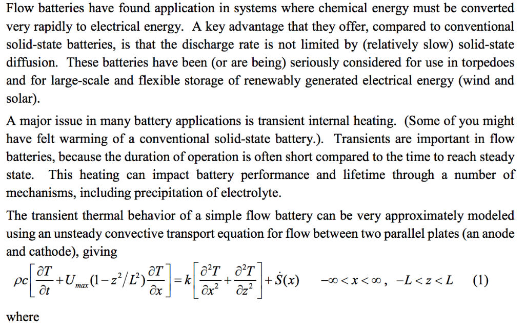 Flow Batteries Have Found Application In Systems W