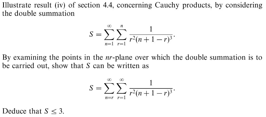 Solved: Illustrate Resul V) Of Section 4 4, Concerning Cau