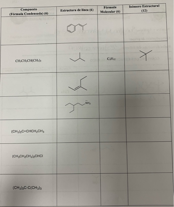 Solved Complete The Spaces By Drawing The Lewis Structure