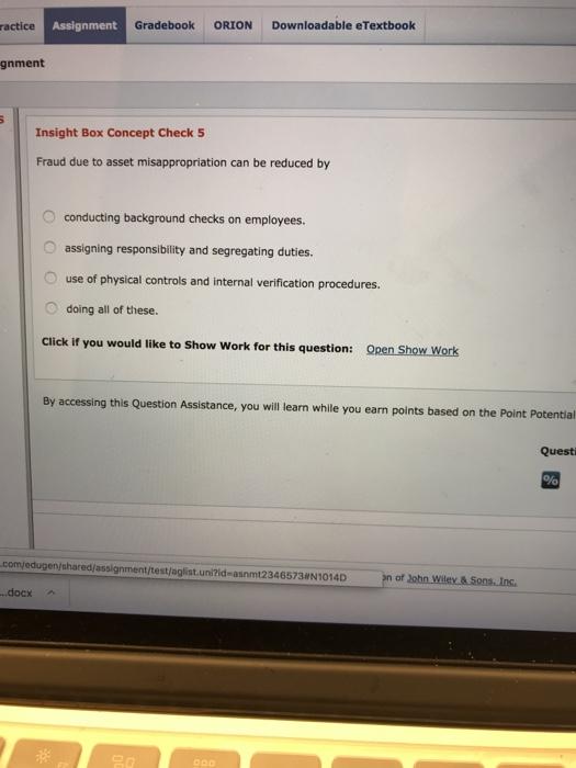 ractice assignment gradebook orion downloadable et chegg com