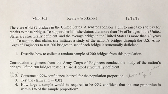 Solved: Math 305 Review Worksheet 12/18/17 There Are 614,3