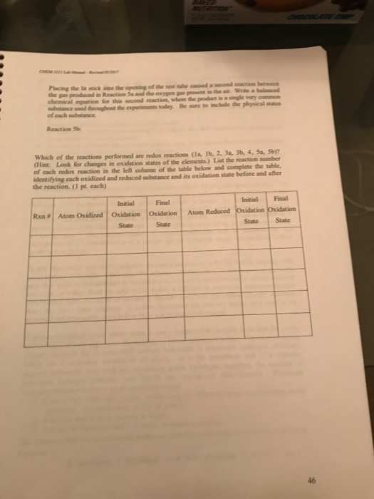 chem 1211 lab manual revned 05201 chemical reactio chegg com rh chegg com ksu chem 1211 lab manual answers ksu chem 1211 lab manual answers