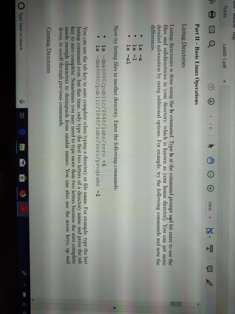 Solved: 00-1 pdf Adobe Acrobat Reader DC Dit View Window H