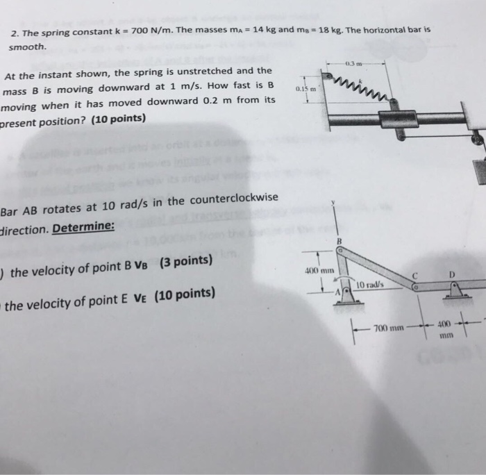 determine the spring constant k Structures and stiffness engr 10 introduction to engineering ken youssefi engineering 10, sjsu 2 wind turbine structure the support structure should be.