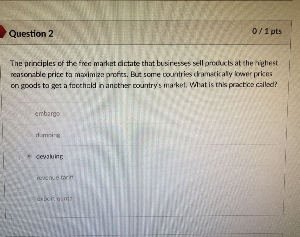 Solved: Question 2 0/1 Pts The Principles Of The Free Mark