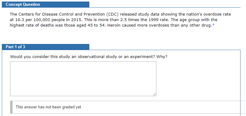 Cdc Releases New Package For Prevention >> Solved Concept Question The Centers For Disease Control A