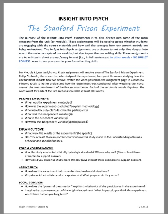 stanford prison experiment ethics