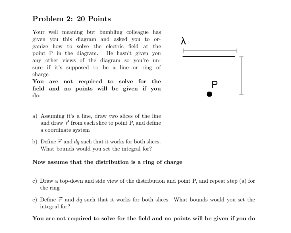 Solved Problem 2 20points Your Well Meaning But Bumbling Chegg Com