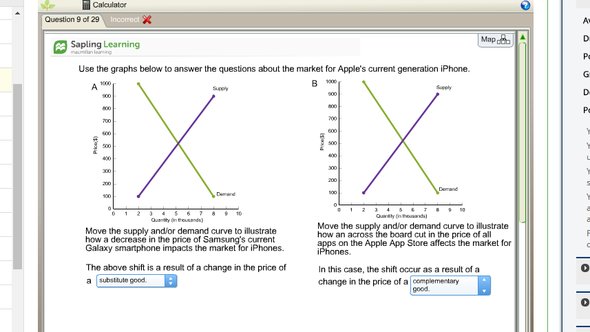 Solved: Calculator Question 9 Of 29 Map Sapling Learning M