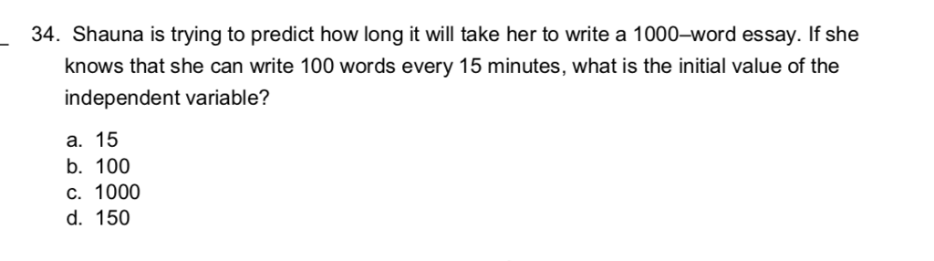 Narrative Essay Topics For High School  Shauna Is Trying To Predict How Long It Will Take Her To Write A Library Essay In English also Essay With Thesis Statement Solved  Shauna Is Trying To Predict How Long It Will T  Argumentative Essay Topics High School