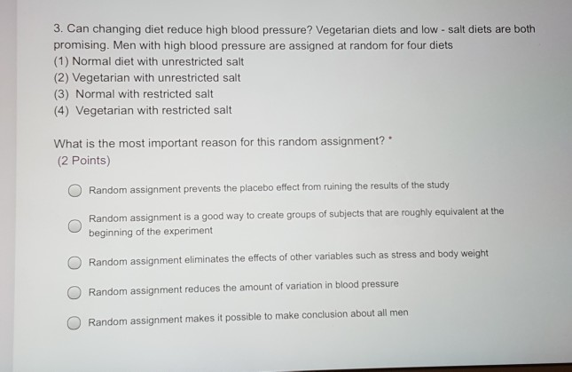 can changing diet reduce high blood pressure