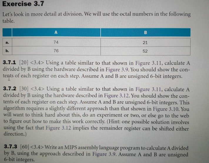 Solved I Need The Full Solution For Part 3 7 3 For Row A Chegg Com