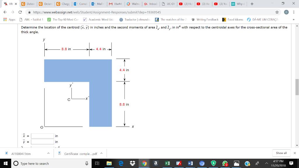 Solved: С і Https://wwww webassign net/web/Student/Assignm