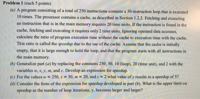 Solved Problem 1 Each 5 Points A A Program Consisting